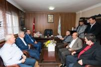KARABAĞ - Minibüsçülerden Başkan Hasan Karabağ'a Açık Destek