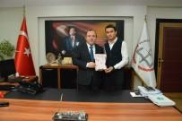 OKUL MÜDÜRÜ - Öğrenci Meclis Başkanı Aydaş, Müdür Yıldız'ı Ziyaret Etti