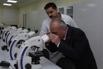 SU ÜRÜNLERİ - Rektör Çomaklı, Veteriner Ve Su Ürünleri Fakültelerini Ziyaret Etti