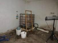 Susurluk'ta 1 Ton Kaçak Alkol Yakalandı