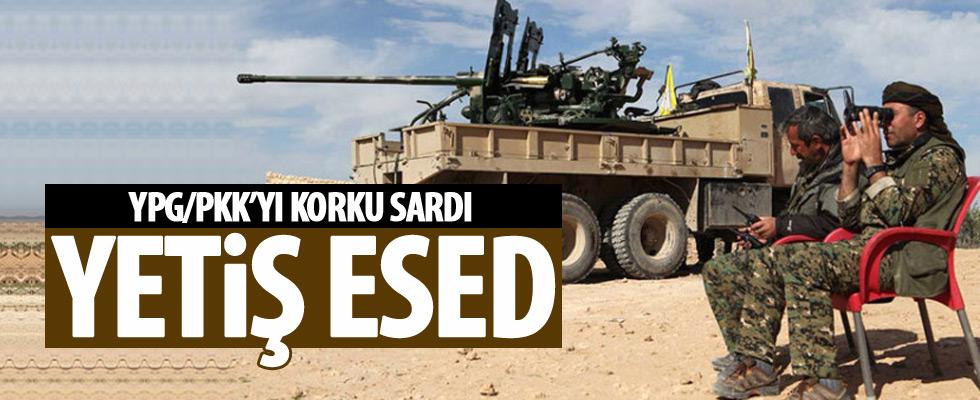 YPG/PKK'dan Esed'e çağrı
