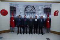 VERGİ DAİRESİ - Vali Çakacak, Vergi Dairesi Başkanlığı'nı Ziyaret Etti