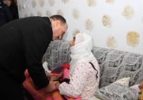 Vali Kaldırım İncelemelerde Bulundu, Hasta Ve Yaşlıları Ziyaret Etti