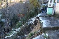 GÖKTÜRK - Zonguldak'ta 11 Ev Heyelan Riski Nedeniyle Boşaltılıyor