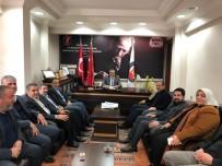 GENÇLİK KOLLARI - AK Parti Heyeti AGC'yi Ziyaret Etti