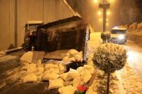 YAĞAN - Ankara'da Kar Yağışı Hayatı Olumsuz Etkiledi