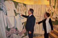 ABDİ İPEKÇİ - Başkan Uysal Elpek Bezi Sergisine Katıldı