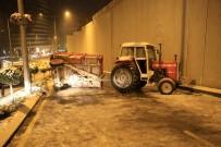 ANKARA VALİLİĞİ - Başkent'te Kar Yağışı Hayatı Olumsuz Etkiledi