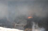 Boğazkale'de Yangın