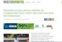 İNTERNET SİTESİ - Chico, Brezilya basınına Antalyaspor'u anlattı