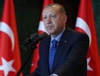 DOLMABAHÇE SARAYı - Cumhurbaşkanı Erdoğan'dan ABD'ye Münbiç mesajı