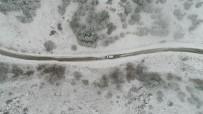 YAĞAN - Eskişehir'de Kartpostallık Kar Manzaraları