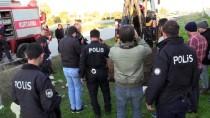 ZABıTA - Kanala Düşen İnek, Havlayan Köpek Sayesinde Fark Edildi