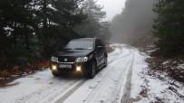 Kazdağları'nda Kar Yağışı Başladı