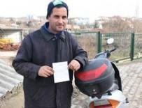 TRAFİK TESCİL - Motosiklet sürücüsüne 'emniyet kemeri' cezası