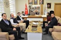ÖĞRENCİ MECLİSİ - Öğrenci Meclisi Başkanı Kılın'dan Başkan Öztürk'e Teşekkür  Ziyareti