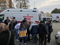 UĞUR MUMCU - Otomobilin Çarptığı Yaya Yaralandı