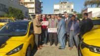 KENAN YILMAZ - Taksicilerden Kızılay'a Destek