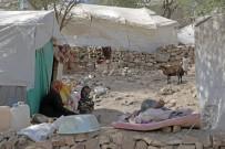 YAŞAM MÜCADELESİ - Yemen'de Aylardır Yardım Yapılmayan Bölgeye Türkiye Diyanet Vakfı Ulaştı