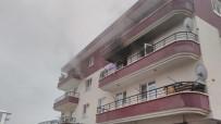 YANGINA MÜDAHALE - Akyurt'ta Yangın Açıklaması 1 Yaralı