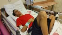 HARRAN ÜNIVERSITESI - Çocuğun karnında 2 kilo materyal cisim çıkarıldı