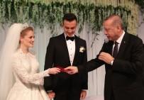 NİKAH TÖRENİ - Cumhurbaşkanı Erdoğan Denizli'de Nikah Törenine Katıldı