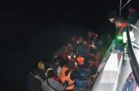 GÜZELÇAMLı - Güzelçamlı'da 2 Operasyonda 71 Kaçak Göçmen Yakalandı