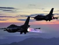 HAVA HAREKATI - Kuzey Irak'a hava harekatı