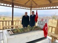 Milletvekili Erol, Şehit Sekin'in Kabrini Ziyaret Etti