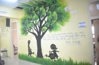 KıZıLPıNAR - Okulun Koridor Ve Kapılarını Hat Sanatıyla Süslediler