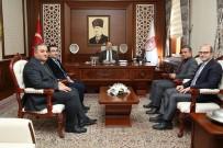 Tapu Ve Kadastro Erzincan Bölge Müdürü Dayıkaraca Vali Pehlivan'ı Ziyaret Etti
