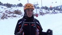 KAR KALINLIĞI - Erzincan Ergan Dağı'nda Kayak Sezonu Açıldı