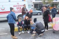 ALPARSLAN TÜRKEŞ - Manavgat'ta Zincirleme Trafik Kazası Açıklaması 5 Yaralı