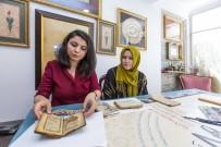 ÇALIŞMA ODASI - Türk Sanatına Gönül Vermiş İki Arkadaş, Eski Kitaplara Yeniden Hayat Veriyor