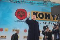 EMINE ERDOĞAN - Cumhurbaşkanı Erdoğan Konya'da Sevgi Gösterileriyle Karşılandı