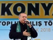 ÇÖZÜM SÜRECİ - Cumhurbaşkanı Erdoğan: Her an teröristlerin tepesine çökebiliriz
