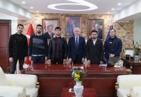 YAPAY ZEKA - DPÜ Yapay Zeka Topluluğundan Başkan Saraçoğlu'na Ziyaret