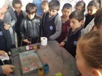 EBRU SANATı - Efe Köylü Öğrenciler Ebru Sanatı İle Tanıştı
