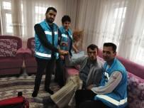 KAS HASTALIĞI - Elbistan'da 956 Hasta Evde Sağlık Hizmetinden Yararlandı