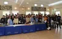 EBRU SANATı - Erasmus Kapsamında Büyükçekmece'ye Gelen Öğrenciler Ebru Sanatı İle Tanıştı