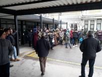 Ersur'da Maaş Alamayan İşçiler İş Bıraktı