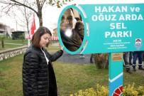 'Hakan Ve Oğuz Arda Sel Parkı' Açılışında Gözyaşı Sel Oldu