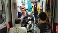 112 ACİL SERVİS - İmam Cami Çıkışı Silahlı Saldırıda Yaralandı
