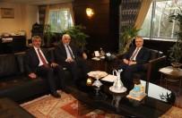 AHMET SALIH DAL - Kilis Milletvekilleri Ağbal İle Görüştü