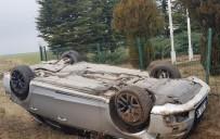 ÇAĞıRKAN - Kırşehir'de Kaza 1 Yaralı