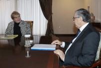 MUSTAFA AKINCI - KKTC Cumhurbaşkanı Akıncı-Lute Görüşmesi Tamamlandı