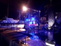 YÜZ FELCİ - Rahatsızlanan Gemi Aşçısı Deniz Ambulansı İle Karaya Tahliye Edildi