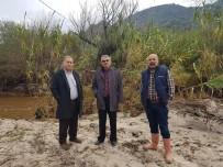 KOCABAŞ - Söke'de Yağışlar Kisir Çayını Taşırdı