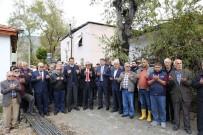 TEMEL ATMA TÖRENİ - Yeşilköy'de Cami Temeli Atıldı