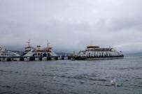 FERİBOT SEFERLERİ - Ada Seferlerine Fırtına Engeli